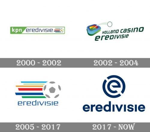 Eredivisie Logo history