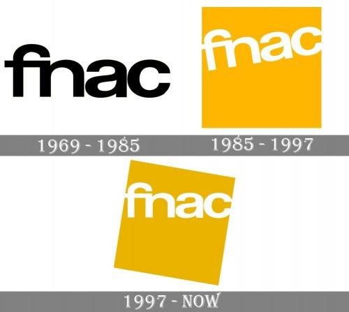 Fnac Logo history