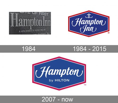 Hampton Inn Logo history