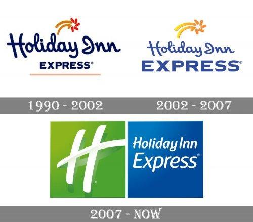 Holiday Inn Express Logo history