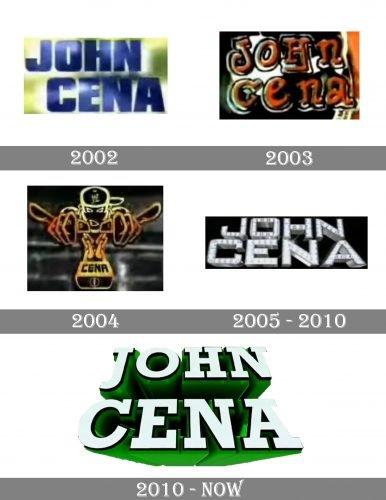 John Cena Logo history