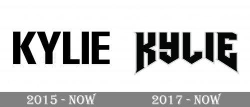 Kylie Jenner Logo history