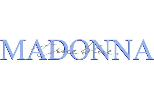 Madonna Logo-1986
