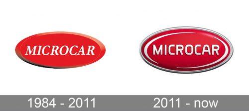Microcar Logo history