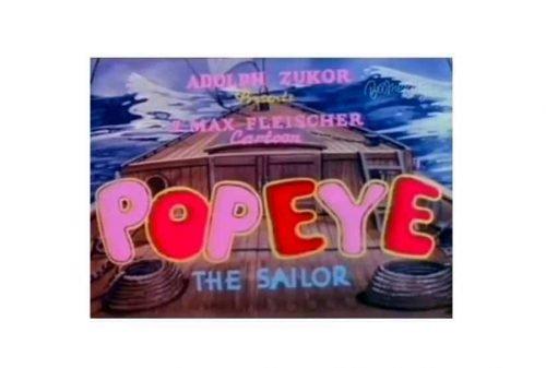 Popeye Logo 1933