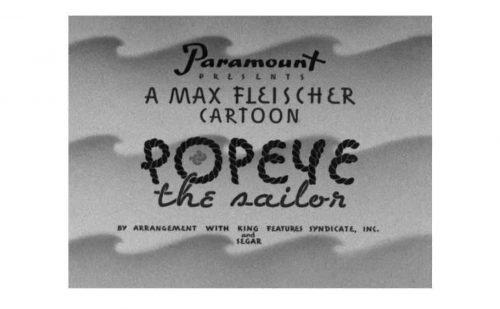 Popeye Logo 1939