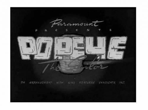Popeye Logo 1941