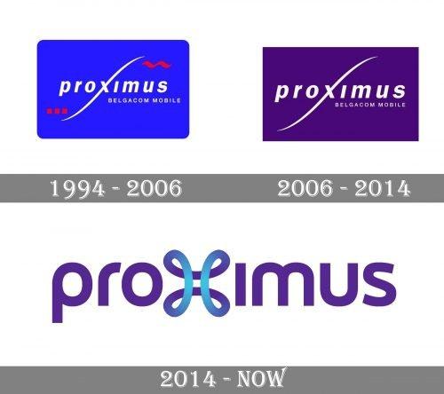 Proximus Logo history