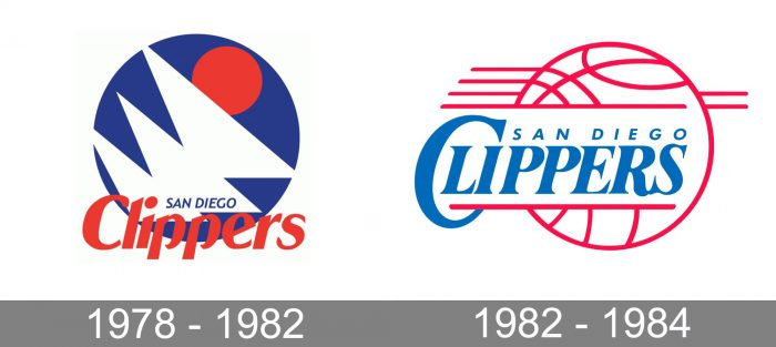 San Diego Clippers Logo history