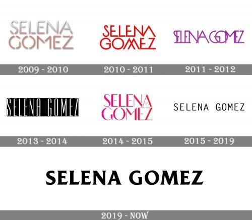 Selena Gomez Logo history