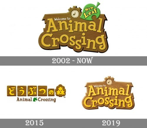 Animal Crossing Logo history