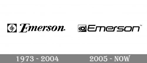 Emerson Logo history