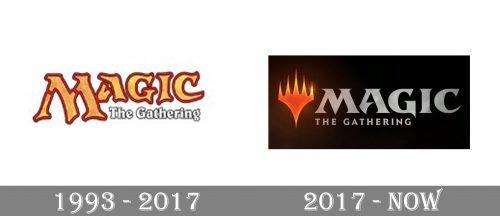 Magic The Gathering Logo history