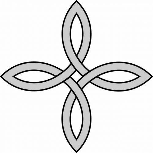 Celtic Bowen Knot symbol