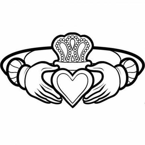 Celtic Claddagh Ring symbol