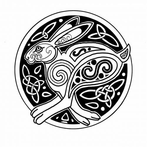 Celtic Hare symbol