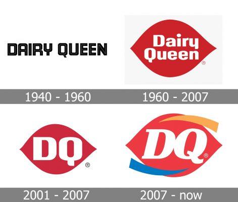 Dairy Queen Logo history