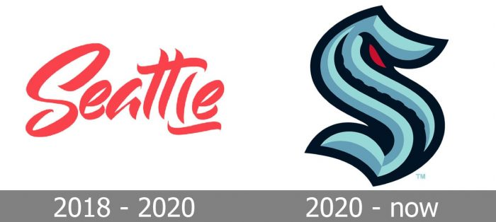 Seattle Kraken Logo history