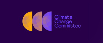 Climate Change Committee rolls out an unconventional visual identity