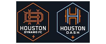Houston's Dynamo and Dash change their logos