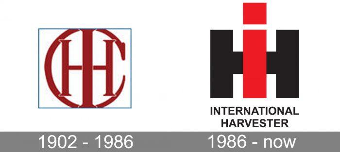 IH Logo history