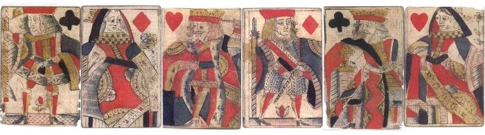Playing cards history