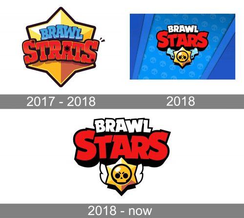 Brawl Stars Logo history
