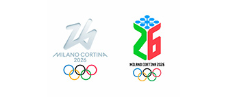 Two 2026 Winter Olymics logos available to vote