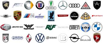 German Car Brands logo tumb