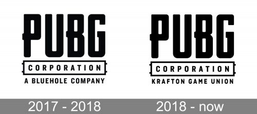 PUBG Logo history