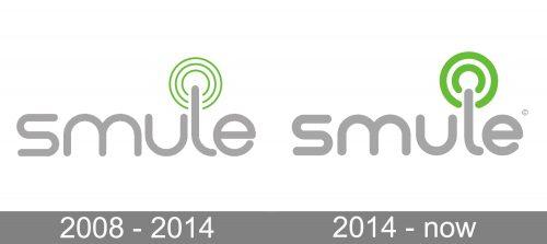 Smule Logo history