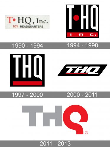 THQ Logo history