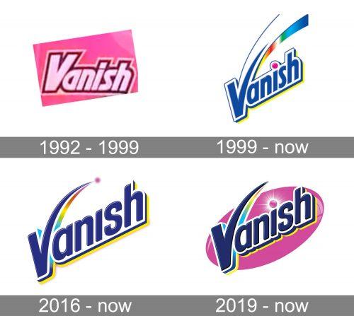 Vanish Logo history