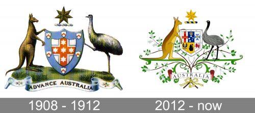 Australian Government Logo history