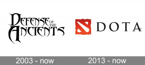 Dota Logo history