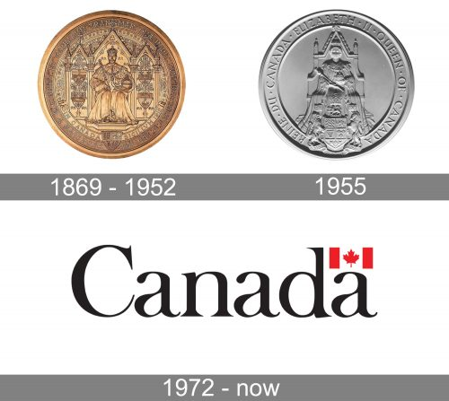 Government of Canada Logo history