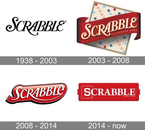 Scrabble US Logo history