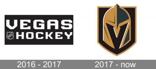 Vegas Golden Knights Logo history