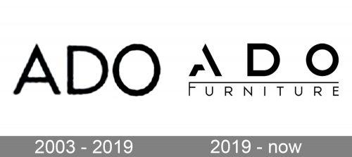Ado Logo history