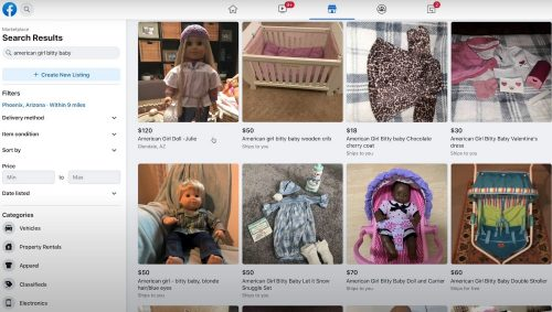 Facebook Marketplace get access to buy and sell 2