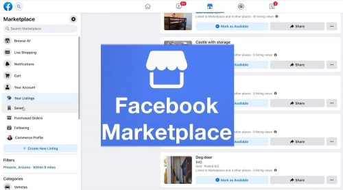 Facebook Marketplace get access to buy and sell