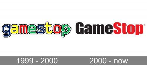 GameStop Logo history