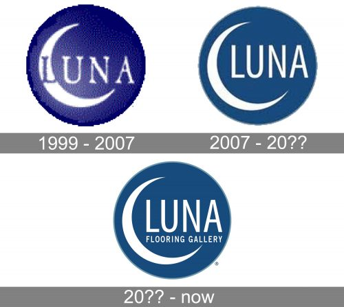 Luna Logo history