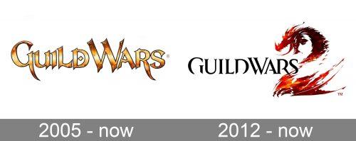 Guild Wars Logo history