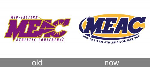 Mid Eastern Athletic Conference Logo history