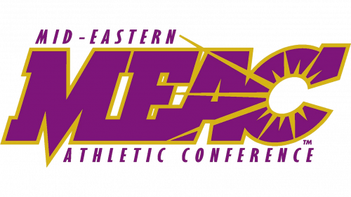 Mid-Eastern Athletic Conference Logo old