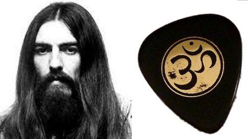 OM Symbol George Harrison Guitar Pick
