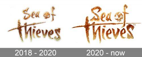 Sea Of Thieves Logo history