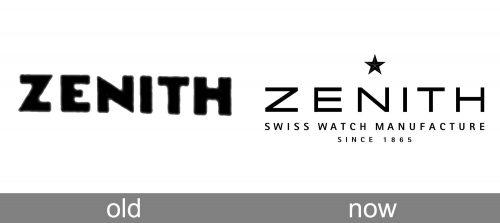 Zenith Logo history