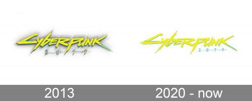 Cyberpunk 2077 Logo history